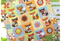 Animal quilts + applique