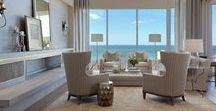 INTERIORS:  COASTAL DECOR / Interiors worthy of SEA approval, plus some added exterior décor.