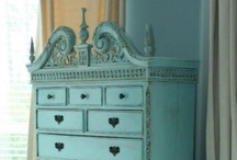 Painted furniture inspiration / by Nicole