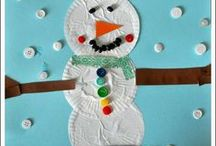 Snowmen Stuff / #Snowmen #Snowman Folk Art,  Stories, Kid's Crafts, Edible Crafts, Recipes, Games... Snowmen warm my heart with their big smiles!