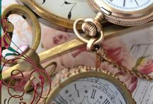 clocks & watches / Time tellers.... / by Pam Wallace