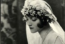 "{ Vintage Brides } / Primarily from the 1910's-1930's but other eras as well.. also see ""Havisham"" board.  *  Vintage Brides  *   Vintage Weddings  *  Vintage Bridal Gowns  *  Court Presentation dresses  * Vintage Wedding & Bridal Accessories  *"