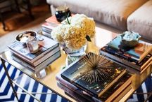 Coffee Table Decor / A well styled coffee table makes any home look instantly chic! / by Amanda Tiran