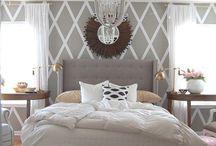 Bedroom Sanctuary / Bedroom Inspiration / by Amanda Tiran