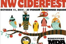 Hard Cider, NW Ciderfest.org, NW Ciderfest / October 11th, 2014 is the 1st annual NW Ciderfest in Pioneer Square downtown Portland. Family friendly with over 20 hard cider vendors, live music, family carnival, V.I.P. area and even a pie eating contest.