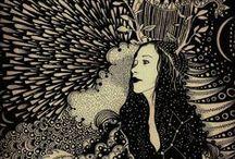 { Daria Hlazatova } / Work by Artist/ Illustrator Daria Hlazatova (http://www.dariahlazatova.com/)