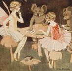 { Ida Rentoul Outhwaite } / The work of Australian illustrator Ida Rentoul Outhwaite ( 9 June 1888~25 June 1960 ).
