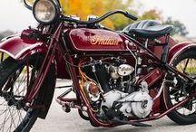 veteran motorbike