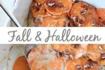 Fall & Halloween / Fall recipes, thanksgiving, Halloween decor, Halloween themed food, fall decor, sweet potatoes, squash, cranberry, apple recipes