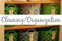 Cleaning/Organization / Cleaning, organization, labels, life hacks, printables