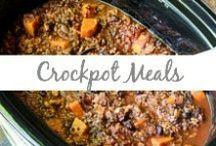 Crockpot Meals / Crockpot dinners, slow cooker meals, crockpot meals, stews, easy crockpot meals