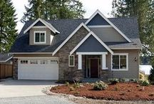 Craftsman House Plans / One of the best collections of craftsman house plans featuring everything from cozy cottages to mountain lodges to sprawling luxurious waterfront home designs. Enjoy browsing The House Designers' most popular craftsman house plans by visiting http://www.thehousedesigners.com/craftsman-house-plans.asp / by Best-Selling House Plans