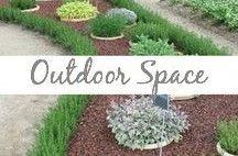 Outdoor Space / Gardening, patio, yard, DIY, flowers
