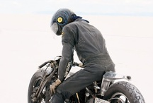 Motor and motorcycle.