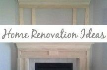 Home Renovation Ideas / Renovations, DIY, painted furniture, building, painting tips