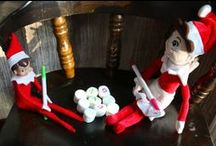Elf on a Shelf / My daughter's Elf is named Sandy, My son's elf is Max.