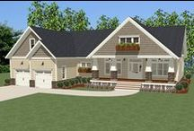 Cottage Style / Cozy cottage decor for your home. Browse all of our cottage house plans here - http://www.thehousedesigners.com/cottage-house-plans/