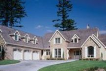European House Plans and Home Designs / Here are just a few of our most popular European home plans. To see all of our European floor plans, check out our full collection - http://www.thehousedesigners.com/european-house-plans/ / by Best-Selling House Plans