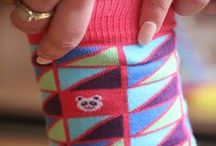 Sock Panda / Pins and Pictures from the Sock Panda himself. Take a look at the crazy socks he makes!