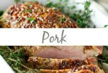Pork / Pork meals, pork chops, pork loin