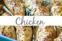 Chicken / Chicken dinners, chicken casseroles, chicken meals