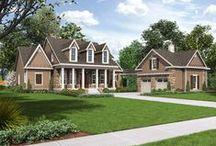 August is National Curb Appeal Month / In honor of the 2nd Annual National Curb Appeal month, we will be showcasing some great house plans featuring the very best in Fypon decorative millwork, columns, door surrounds and much more. / by Best-Selling House Plans