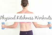 Physical Kitchness Workouts / workout tutorials, HIIT, barre, toning