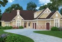 House Plans with Breezeways / Wanting a garage, but not wanting it completely attached to your home. Enjoy our collection of house plans featuring homes with garages attached by covered breezeways. / by Best-Selling House Plans