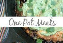 One Pot Meals / One-pot dinners, casseroles, skillet meals