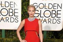 Looks Golden Globe 2016 / Looks usados pelas celebridades no Red Carpet do Golden Globe 2016.