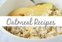 Oatmeal Recipes / oatmeal, oats, oat bars, breakfast