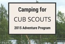scouts / camping / by Melinda Vandre
