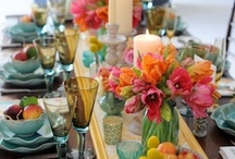 Tablescapes, settings and centerpieces