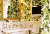 bathrooms / interior design / by Vintage Art//Anna Hackathorn