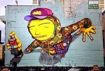 Hookedblog's Os Gemeos Board / Os Gêmeos are graffiti artist identical twin brothers ( born 1974) from São Paulo, Brazil.