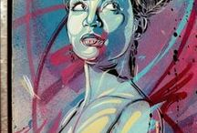 Hookedblog's C215 Board / A board featuring the work of C215