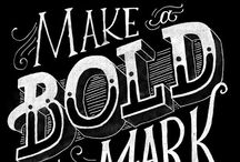 Hand Lettering Inspiration