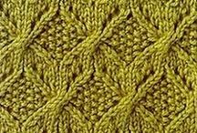 Knitting stiches / A collection of stitches