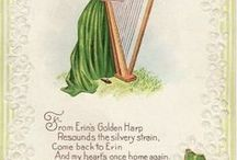 St. Patrick Day greeting cards & images / Modern and vintage greeting cards and images