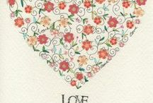 Valentine's Day greeting cards & images / Modern and vintage greeting cards and images