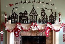 Mantel Love / Mantels and their decoration - love what these people have done / by Susan Burke
