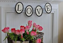 VALENTINES / Valentine's Day decor and crafts / by Jay Forde