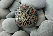 ** PaiNteD StoNes ** / by Pixie Kaye