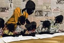 SCHOOL'S  IN / History in word & vintage photographs ~ Black (African American) cowboys. / by Darlene Carter-Johnson