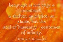 Linguistics {Language Change} / by Alicia Copeland