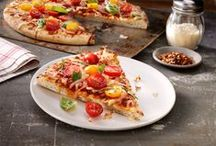 Pizza Dishes / We're pinning easy, cheesy homemade pizza recipes to satisfy the whole fam! From white sauce to classic marinara sauce and from round-shaped to heart shaped pies, we've got 'em all. / by Ragú Sauce