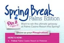 Pin it to Win it! Spring Break: Palms Edition  / Create a Pinterest board to show us your #SpringBreak Wishlist for a chance to #win the ultimate #getaway to Palms Casino Resort this Spring!