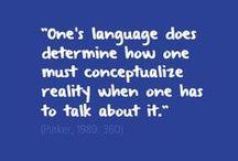 Linguistics {Ethnolinguistics} / by Alicia Copeland