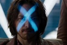 X-MEN / I love the X-Men movies. They're my favorite Marvel movies. Professor X is the best.