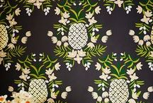 Wall Coverings + Pattern / A collection of my favorite wall coverings and patterns.